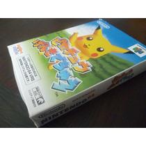 N64. Hey You Pikachu. Japones