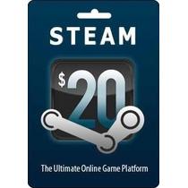 Gift Card Steam Tarjeta De Prepago Steam Juegos De Pc Mac