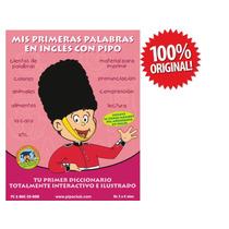 Mis Primeras Palabras En Ingles Con Pipo 100% Original