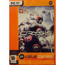 Juego Pc Crysis Dvd Castellano Original Y Sellado