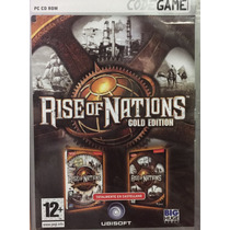 Juego Pc Rise Of Nations Gold Edition En Castellano Nuevo