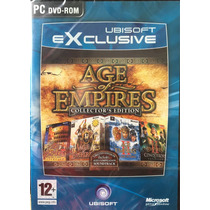 Juego Pc Age Of Empires Dvd Rom Ingles Collectors Edition