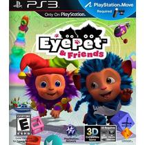 Eye Pet & Friends Ps3 Nuevo De Fabrica Citygame