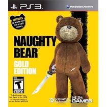 Naughty Bear Gold Edition Ps3 Nuevo De Fabrica Citygame