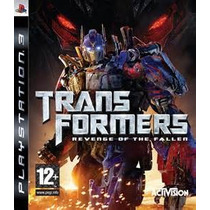 Transformers Revenge Of The Fallen Ps3 Nuevo Citygame