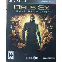 Ps3 - Deus Ex ( Human Revolution)