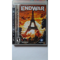 Ps3 Tom Clancy´s End War $220 Pesos - Seminuevo - V / C