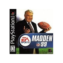 Ea Sports Madden Nfl 99 Ps1 Ps2
