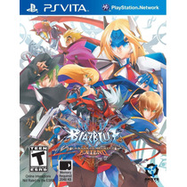 Blazblue Continuum Shift Extend Ps Vita Nuevo De Fabrica