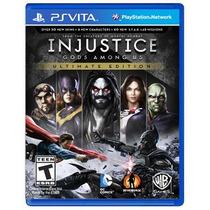 ..: Injustice: Gods Among Us - Ultimate Edition :. Para Psv