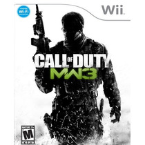 Call Of Duty Modern Warfare 3 Cod Mw3 Nintendo Wii Nuevo