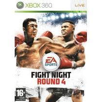 Fight Night Round 4 - Xbox 360 Nuevo
