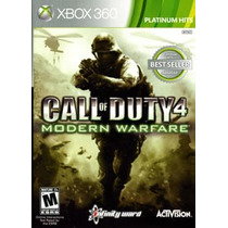Call Of Duty 4 Modern Warfare Para Xbox 360
