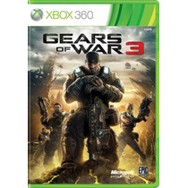 °° Gears Of War 3 °° Xbox 360 En Bnkshop