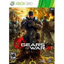 Gears Of War 3 - Xobox 360 - Usado
