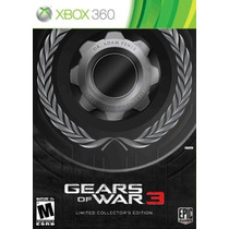 Gears Of War 3 Limited Edition Xbox 360 Nuevo Blakhelmet