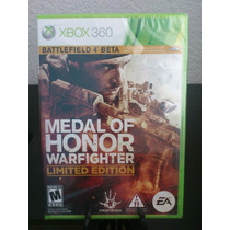 Medal Of Honor Warfighter Limited Edition Xbox 360 Nuevo