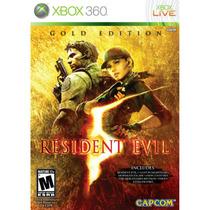 Resident Evil 5 Gold Edition Para Xbox 360 Nuevo Blakhelmet