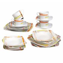 Vajilla Drew Porcelana 4 Personas 20 Pz - Crown Baccara