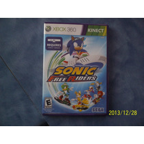 Sonic Free Riders Xbox 360 Kinect