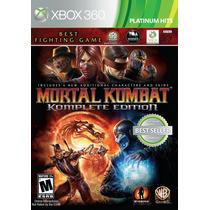Mortal Kombat Komplete Edition Xbox 360 Nuevo Blakhelmet