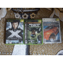 Splintel Cell Xmen Need For Speed