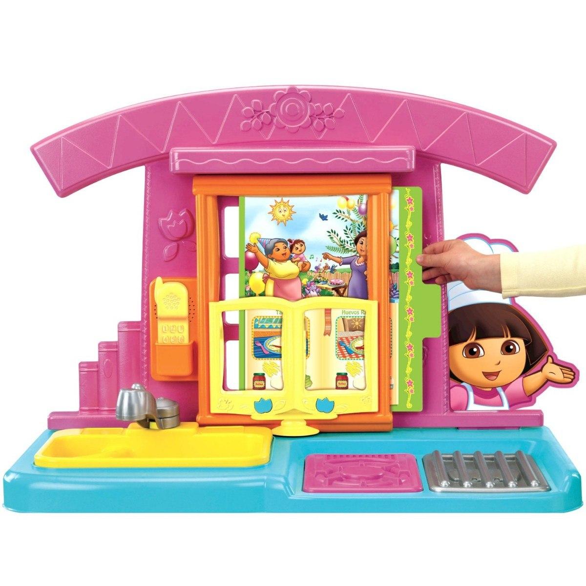 Cocina para ni as dora la exploradora fisher price - Dora la exploradora cocina ...
