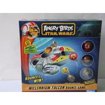 Angry Birds Star Wars Halcón Milenario 3personajes Incluidos