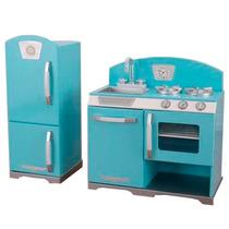 Cocina Cocinita Juego Kidkraft Retro Mini Refigerador Pm0
