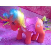Mi Pequeno Pony Unicornio De Los 80s Pelo De Colores