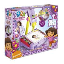 Proyector Dora La Exploradora Dibuja Colorea Original