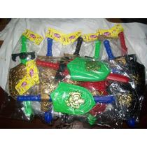 Gcg 1 Lote De 8 Espadas Y 8 Escudos De Plastico Niños Lqe