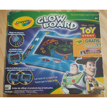 Pizarron Magico Crayola Glow Board Juguete Toy Story Y Cars