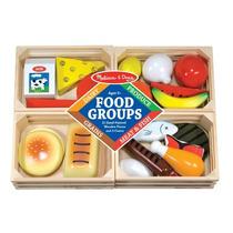 Grupo De Alimentos De Madera Juguete Melissa & Doug Mn4