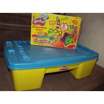 Mesa Play Doh Con Mas De 250 Piezas Guarderia Kinder Jardin