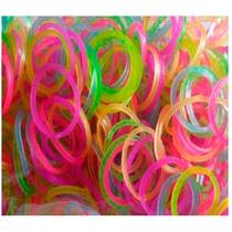 Paquete Ligas Brillo En Oscuridad Rainbow Loom Xd25 Hm4