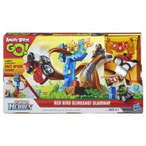 Playskool Heroes Angry Birds Go Red Bird Slingshot Slamway