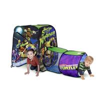 Casita Area De Juegos Para Niños Tunel Tortugas Ninja Hm4