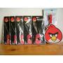 Lote Angry Birds Etiqueta Y Collar All Star Rosa