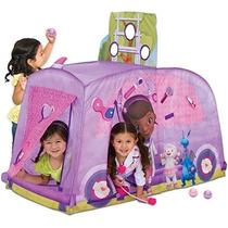 Casa Tienda De Campana Dra Juguetes Disney Jr Casita Con Acc