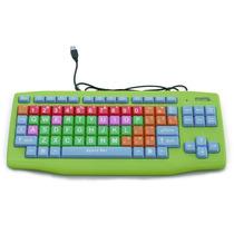 Teclado Computadora Niños Colores Niñas Didactico Laptop Usb
