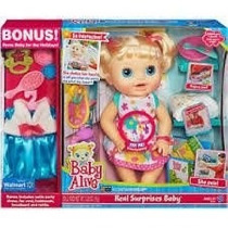 Tb Muñeca Baby Alive Real Surprises Baby Exclusive Bonus