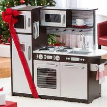 Cocinita Espresso Con Refrigerator Kids