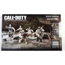 Mega Bloks Call Of Duty Desert Troopers Nuevo