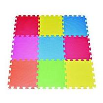Poco Divo 9-azulejo Multicolor Colchoneta De Ejercicio Espum