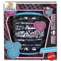 Diario Secreto Monster High Mattel Meses Sin Intereses