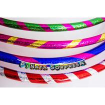 12 Aros Hula Jumbo Didactico Juguete Piñata Fiesta Destreza
