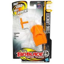 Lanzador Beyblade String Launcher De Metal Fusión De Hasbro
