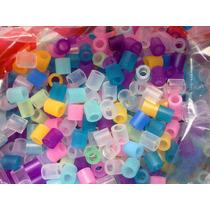 Perler Beads 100 Cuentas Un Solo Color O Mezclado