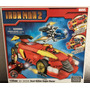 Iron Man 2 Dual Action Súper-racer Marvel Megabloks 159pcs